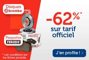 -62% sur tarif officiel